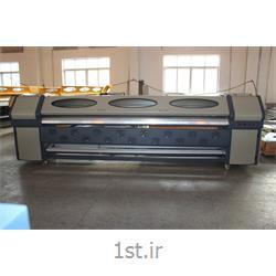 عکس چاپگر (پرینتر)دستگاه چاپ بنر استوک با 4 هد کونیکا 512