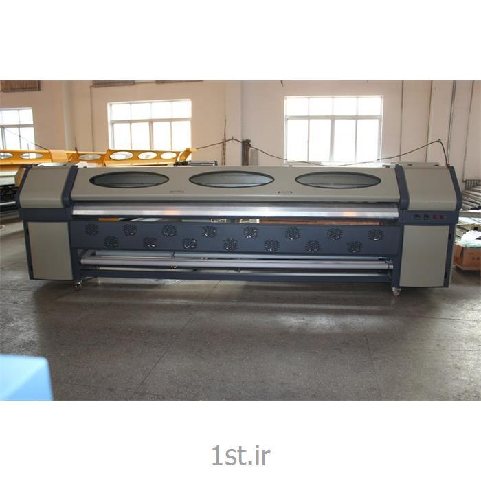 دستگاه چاپ بنر استوک با 4 هد کونیکا 512
