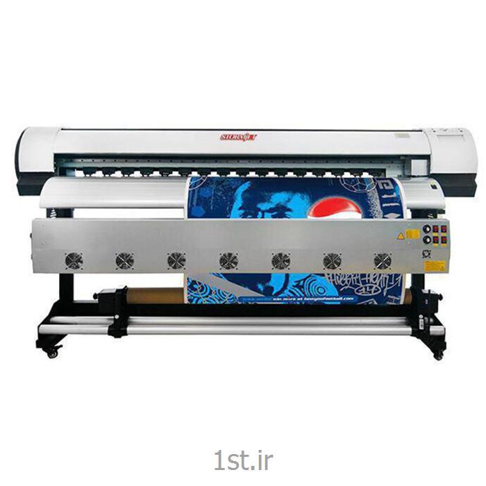 عکس چاپگر (پرینتر)دستگاه چاپ  بنر اکوسالونت عرض 180