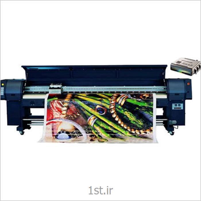 دستگاه چاپ بنر و فلکسی 8 هد زار 128 کریستال جت