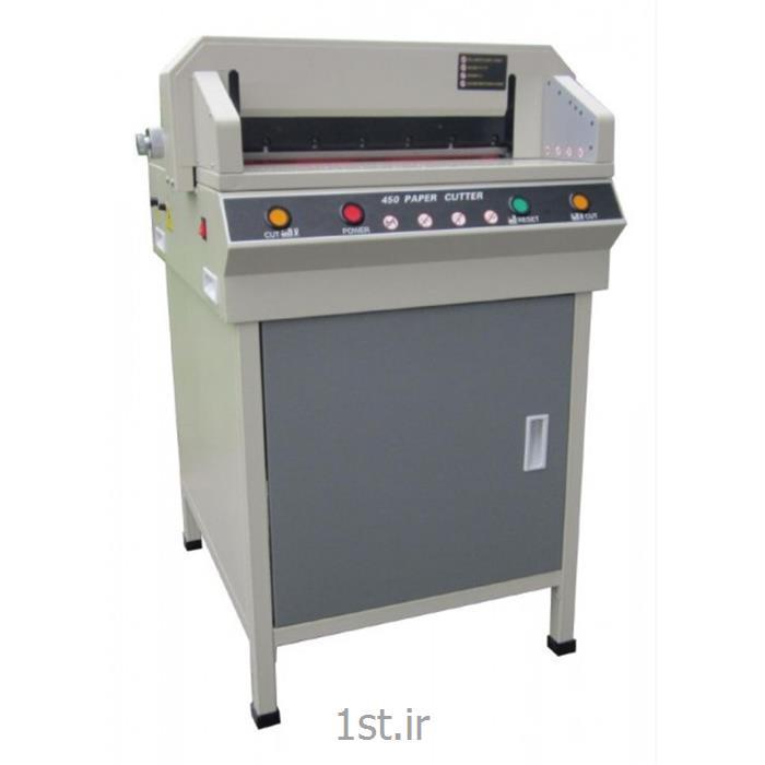 دستگاه برش کاغذ برقی تمام اتوماتیک مدل cutter 450VGS