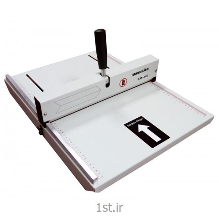 دستگاه خط تا کاغذ دستی عرض 35 سانت