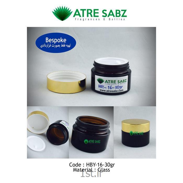 ظرف کرم 30 گرمی کد HBY-16-30gr
