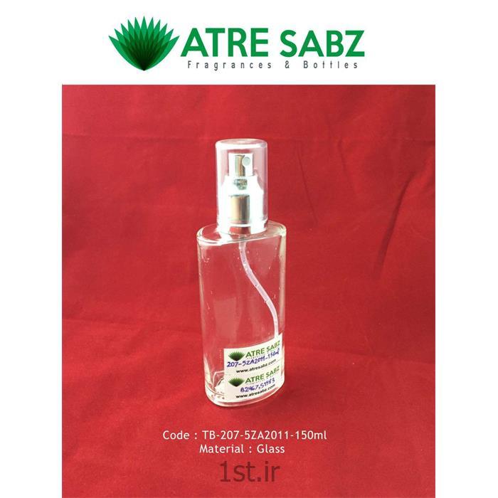 ظرف شیشه ای 150 میل رز (Rose Glass bottle)