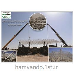 عکس سازه فضاکارسازه فضایی سقف مسجد
