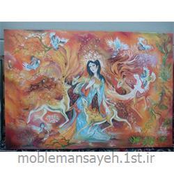 تابلو نقاشی رنگ و روغن گرمای عشق
