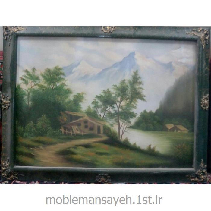 تابلو نقاشی  رنگ و روغن منظره