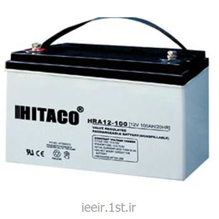 عکس باتری (باطری) خشکباتری 12 ولت 100 آمپر ساعت هیتاکو Hitaco Battery