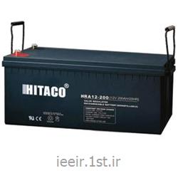 عکس باتری (باطری) خشکباتری 12 ولت 200 آمپر ساعت هیتاکو