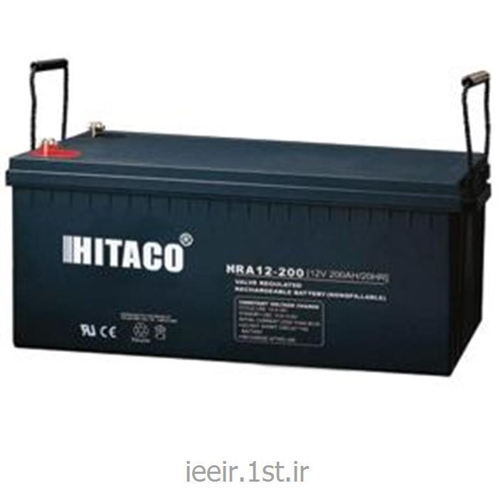 عکس باتری (باطری) خشکباتری 12 ولت 200 آمپر ساعت هیتاکو Hitaco Battery