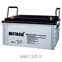 عکس باتری (باطری) خشکباتری 12 ولت 120 آمپر ساعت هیتاکو