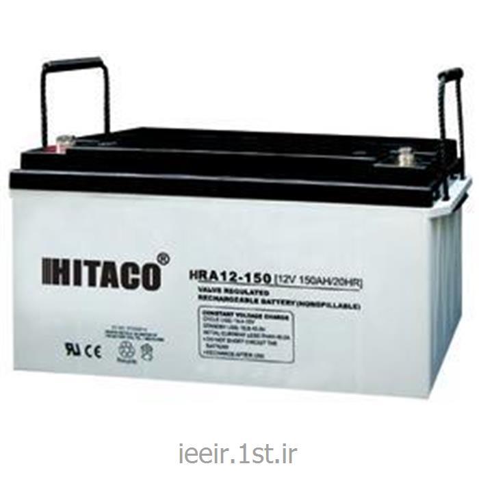 عکس باتری (باطری) خشکباتری 12 ولت 150 آمپر ساعت هیتاکو Hitaco Battery