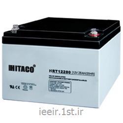 باتری 12 ولت 28 آمپر ساعت هیتاکو Hitaco Battery