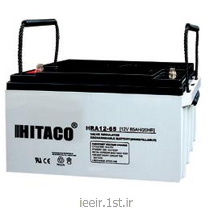 عکس باتری (باطری) خشکباتری 12 ولت 65 آمپر ساعت هیتاکو Hitaco Battery