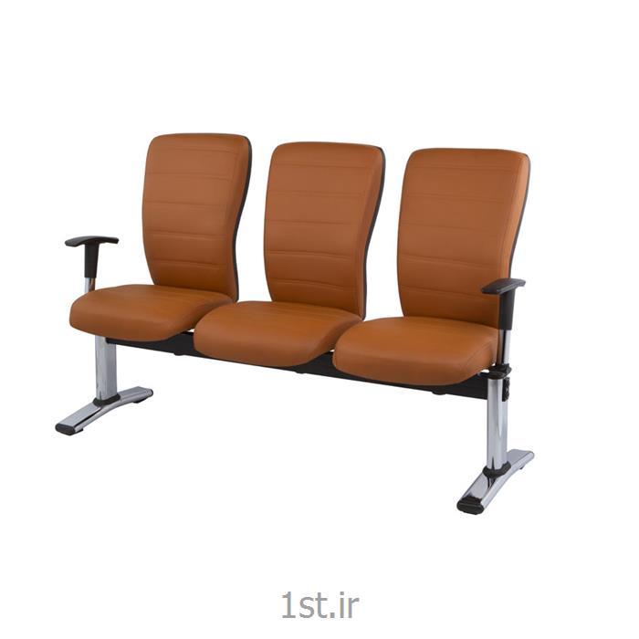 عکس صندلی انتظارصندلی پانچی انتظار سه نفره مدل RW 810