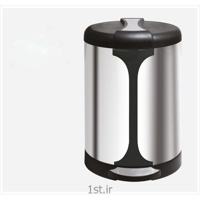 سطل زباله استیل پدالدار 100NH