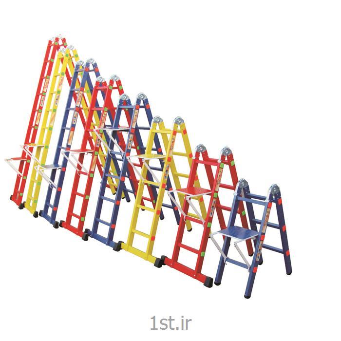 نردبان تاشو دو تکه اسانکار