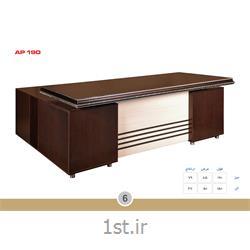 میز مدیریت ملامینه الدارصفحه پروفیلی مدل AP190 MDF وحدت