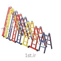 عکس نردباننردبان تاشو دو تکه 16 پله اسانکار