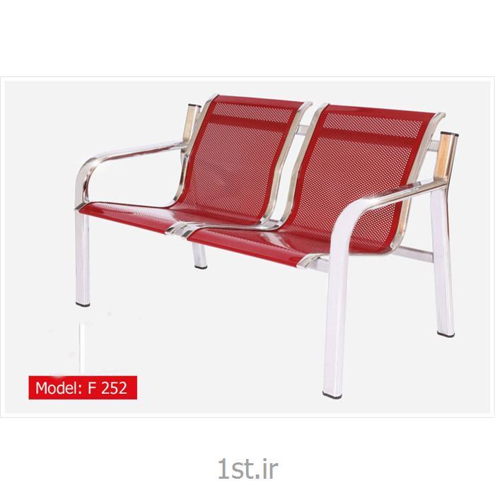 عکس صندلی انتظارصندلی انتظار پانچ دو نفره مدل F 252