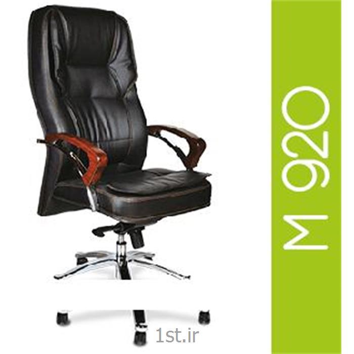 صندلی گردان مدیریتی چرم مصنوعی A M 920