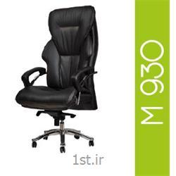صندلی گردان مدیریتی چرم مصنوعی A M 930