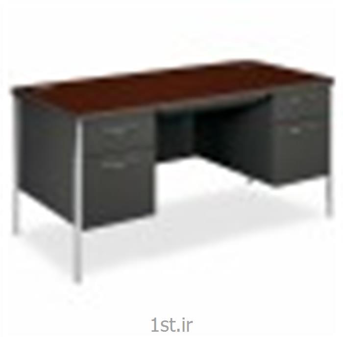 میز فلزی پایه کروم وحدت