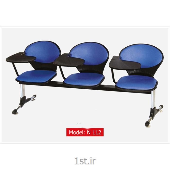 عکس صندلی انتظارصندلی انتظار پانچ سه نفره مدل N 112
