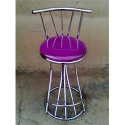عکس ست میز و صندلی آشپزخانه ( بار )صندلی فلزی ثابت کروم اپن وحدت