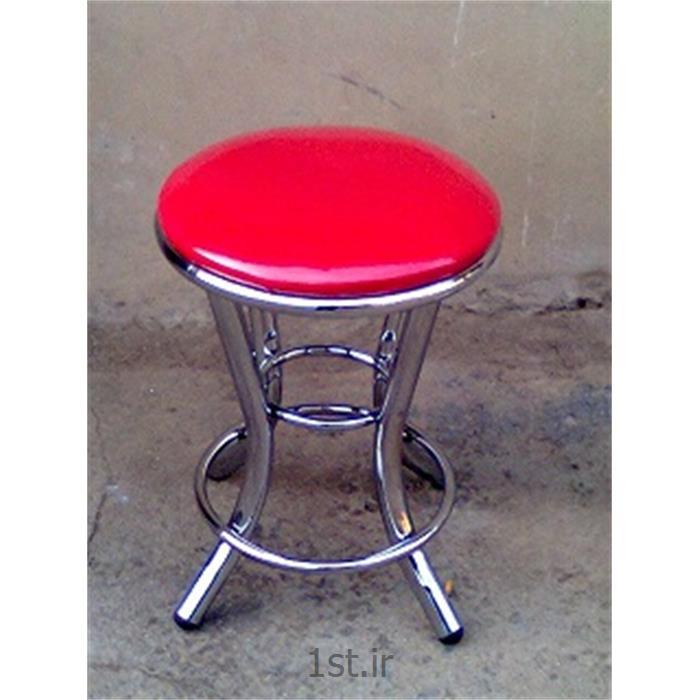 صندلی فلزی ثابت کروم اپن وحدت