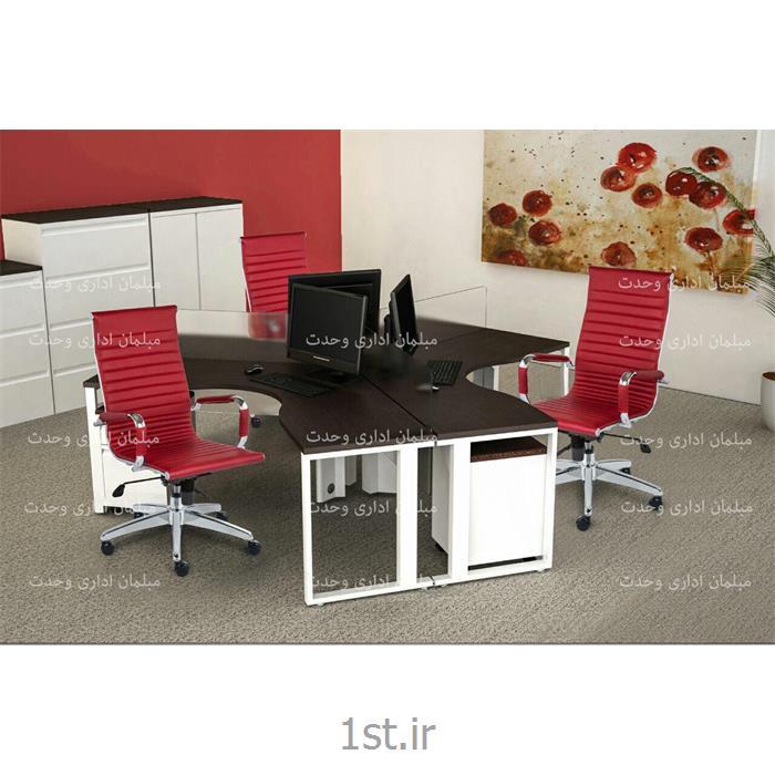 عکس صندلی اداریصندلیهای اداری کارمندی سری 860 R