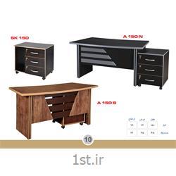 میز مدیریت ملامینه الدارصفحه پروفیلی مدل SK150 MDF وحدت