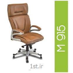 صندلی گردان مدیریتی چرم مصنوعی A M 915
