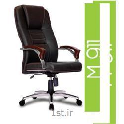 صندلی گردان مدیریتی چرم مصنوعی A M 911