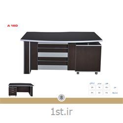 میز مدیریت ملامینه الدارصفحه پروفیلی مدل A160 MDF وحدت