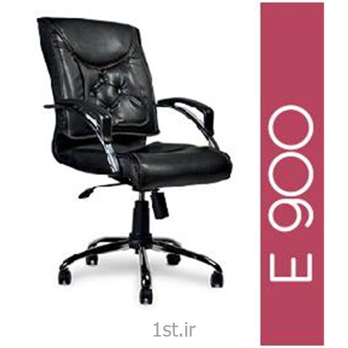 صندلی گردان چرمی کارشناسی A E900