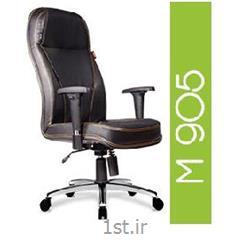 صندلی گردان مدیریتی چرم مصنوعی A M 905