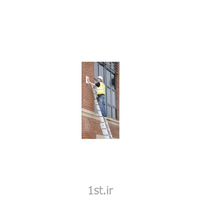 نردبان آلومینیومی 12 پله 2 تکه کشویی افرا