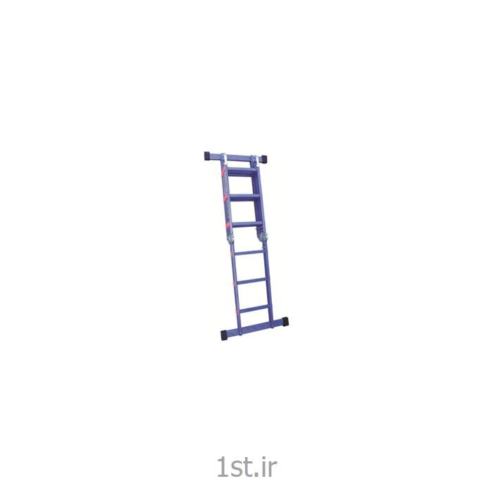 نردبان تاشو دو تکه 14 پله اسانکار