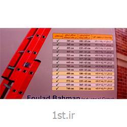 نردبان آلومینیومی 27 پله 3 تکه کشویی افرا
