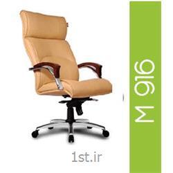 صندلی گردان مدیریتی چرم مصنوعی A M 916