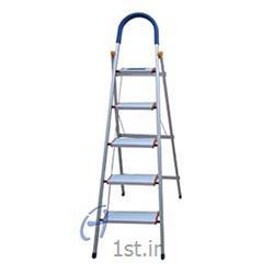نردبان پنج پله تاشو آلومینیوم پارتیان
