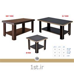 میز ملامینه جلو مبلی ساده G100 MDF وحدت