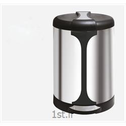 سطل زباله استیل زیر سیگاری دار 45 A