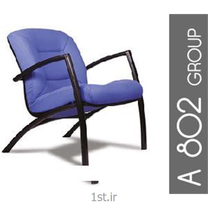 عکس صندلی انتظارمبل اداری تک نفره اریکا مدل A802-1