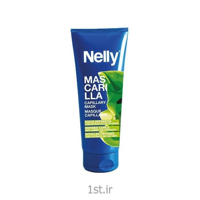 ماسک موی فر و مجعد با عصاره چای سبز نلی (NELLY)