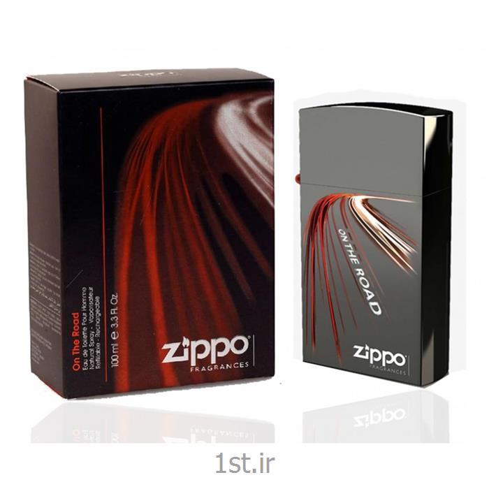 ادوتویلت مردانه زیپو مدل آن د رود (Zippo)