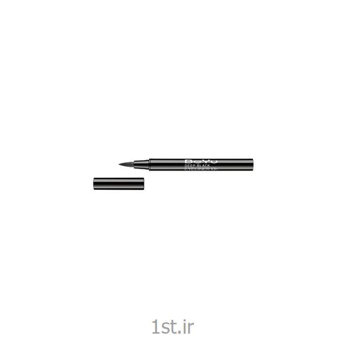 عکس خط چشمخط چشم ماژیکی بی یو مدل BeYu Fine Liner 01