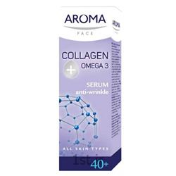 عکس سرم پوستسرم ضد چروک آروما (Aroma)
