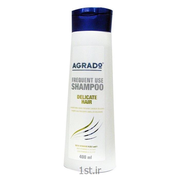 شامپو موهای شکننده و حساس آگرادو AGRADO